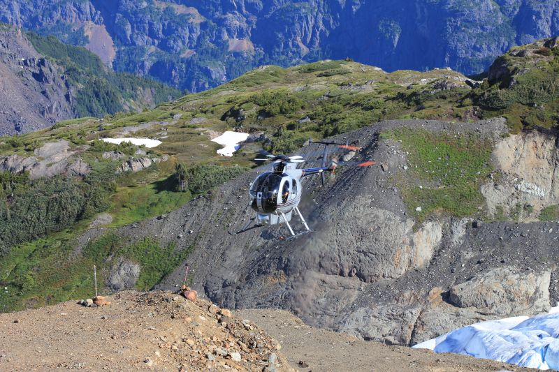 Mining services | Alberta, British Columbia | Mustang Helicopters